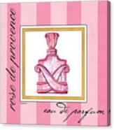 Eau De Parfum Canvas Print