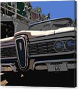 Edsel On Route 66 Canvas Print