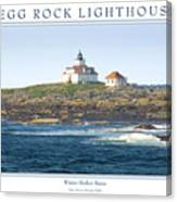 Egg Rock Island Lighthouse Canvas Print