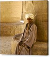 Egyptian Caretaker Canvas Print