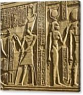 Egyptian Temple Art Canvas Print