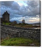 Eilean Donan Castle In The Morning Light Canvas Print