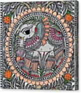 Elephants 1a Canvas Print