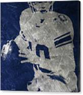 Eli Manning Giants Canvas Print