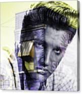 Elvis Presley Sun Studio Collection Canvas Print