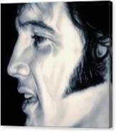 Elvis Presley  The King Canvas Print