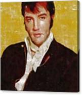 Elvis Presley Y Mb Canvas Print