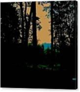 Emerald Mountain Canvas Print