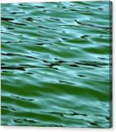 Emerald Sea Canvas Print