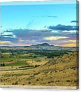 Emmett Valley Canvas Print