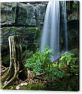 Enchanted Waterfall Canvas Print