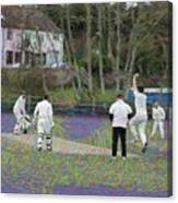 England Club Cricket Canvas Print