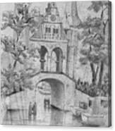 Entrance Into Sneek Canvas Print