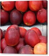 European Markets - Nectarines Canvas Print