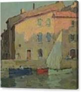 Evening Martigues Canvas Print