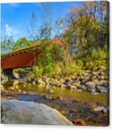 Everett Covered Bridge  Canvas Print