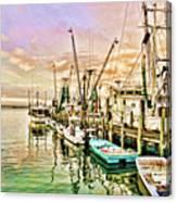 Everett Seafood Canvas Print