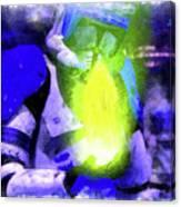 Execute Order 66 Blue Team Commander - Cartoonized Style Canvas Print