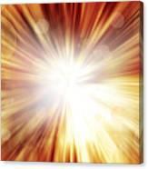 Explosive Background  Canvas Print