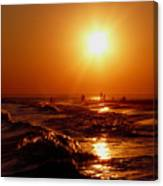 Extreme Blazing Sun Canvas Print