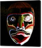 Face Of Totem Canvas Print