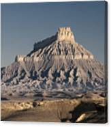 Factory Butte 0562 Canvas Print