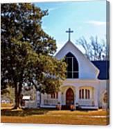 Fairhope Sacred Heart Church Canvas Print