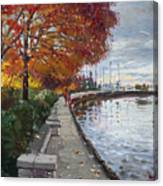 Fall In Port Credit On Canvas Print