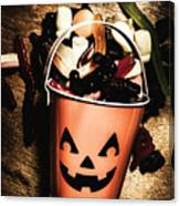 Fall Of Halloween Canvas Print