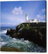 Fanad Lighthouse, Co Donegal, Ireland Canvas Print