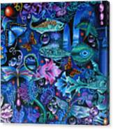 Fantasy Aquarium Canvas Print