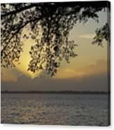 Farewell Sunset Canvas Print