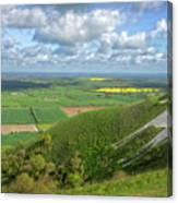 Farmlands. Canvas Print