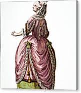 Fashion: French, 1778 Canvas Print