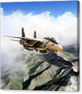 Fear The Bones F-14 Canvas Print