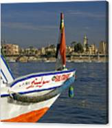 Felucca On The Nile Canvas Print