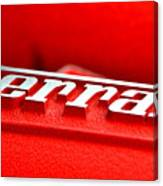 Ferrari Intake Canvas Print