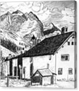 Fextal Switzerland Canvas Print