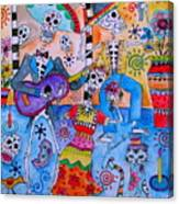 Fiesta Calaveras Canvas Print