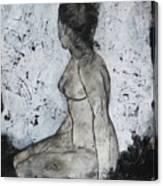 Figure Study 028 Canvas Print