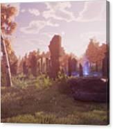 Final Fantasy Xiv A Realm Reborn Canvas Print