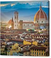 Firenze Duomo Canvas Print