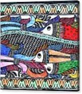 Fish Culture Canvas Print