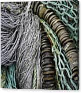 Fish Netting Husavik Iceland 3755 Canvas Print