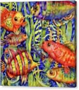 Fish Tales IIi Canvas Print