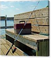 Fishin' Pole Canvas Print