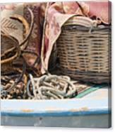 Fishing Baskets Canvas Print