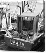 Fishing Boat Idlewild Wellfleet Massachusetts Canvas Print