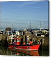 Fishing Boats At Whitstable Harbour 02 Canvas Print