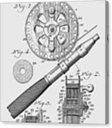Fishing Reel Patent 1906  Canvas Print